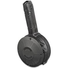 Mag GLOCK 9mm 50 Round Polymer Drum Magazine For Glock 17, 18, 19, 26 and 34 Made in Korea