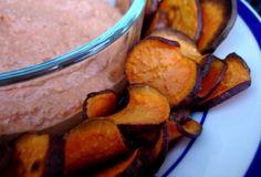 Weeks 1-4:  Homemade Sweet Potato Chips