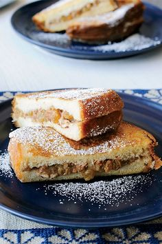 This quick and easy 45-minute French toast recipe incorporates brioche bread, apples, raisins, pecans and sweetened whipping cream to create the ultimate fall breakfast recipe. Whether you're eating this apple recipe alongside eggs, bacon, sausage or hash browns, it's a great choice for a fall recipe.#fallrecipes #applerecipes #frenchtoastrecipes #breakfastrecipes #brunchrecipes