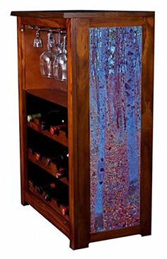 Beech Forest by Gustav Klimt Wine Cabinet ** Find out more about the great product at the image link. (This is an affiliate link) Red Cabinets, Wine Cabinets, Gustav Klimt, Canvas Prints, Art Prints, Wine Rack, Liquor Cabinet, All In One, Storage