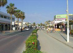 Ayia Napa Bar Strip Cyprus