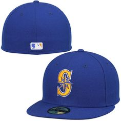 check out 6ff8c 42651 Men s Seattle Mariners New Era Royal Authentic Collection On-Field 59FIFTY  Performance Fitted Hat -