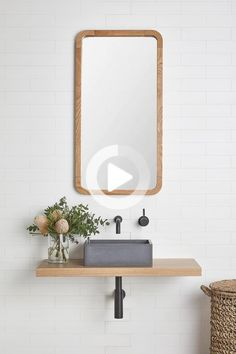 If your bathroom is in desperate need of a refresh but you don't have the funds for a full-scale renovation, there are plenty of budget updates you can make your old bathroom look brand new without spending a fortune. From installing a new vanity to updating your tapware, interior designer Catherine Heraghty of The Stables shares some key pieces to invest in to refresh your bathroom without renovating. #bathroomideas