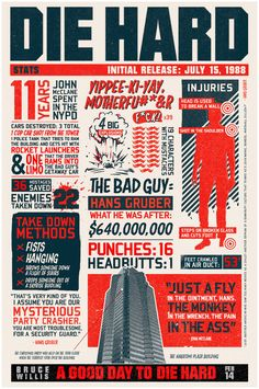 Holly Day Cards?  Die Hard poster - Imgur