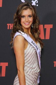 Miss USA 2013 Erin Brady attends 'The Heat' premiere in New York