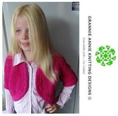 Bolero knitting pattern
