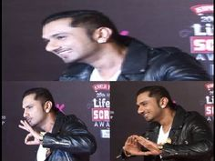 Rapper Yo Yo Honey Singh at the Red Carpet of Life Ok Screen Awards.