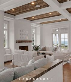 6 Paint Colors That Make A Splash On Ceilings In 2019