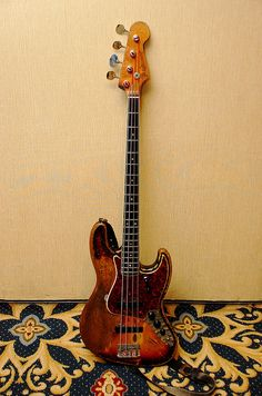 1966 (early) Fender Jazz Bass, might be a 1965 as well.