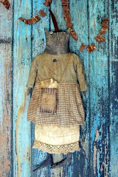 PatternMart.com ::. PatternMart: Mrs. Begg - Extreme Primitive Cat Doll