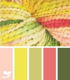 Like these colors for a girl nursery