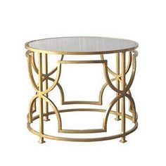 .I love this table!  It would look so great in my dream living room!