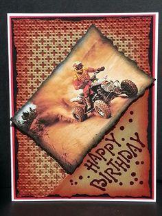 Teenage boy birthday card.