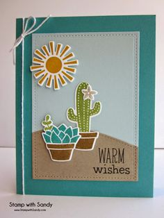 Stamp with Sandy: Warm Wishes