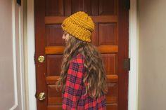 Learn To Crochet: Easy Beanie Pattern.