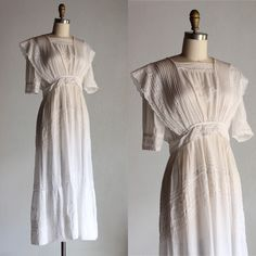 Antique 1910 tea dress