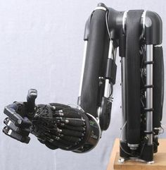 Robot arm with Air Muscles