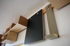 boîtes étagères modulables par Von Tundra