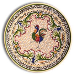 Decorative plate with the iconic Portuguese rooster.