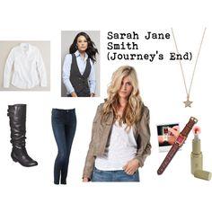 Sarah Jane Smith (Journey's End) - Polyvore