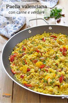 Risotto, Paella Valenciana, Latest Recipe, Rice Dishes, International Recipes, I Foods, Food Inspiration, Good Food, Food Porn