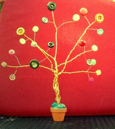 Creating Virginia Anne: Grandmas Button Trees   www.creatingvirginiaanne.blogspot.com