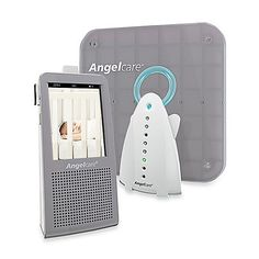 5b3f2e5b894 The Angelcare® Three-in-One Video, Movement and Sound Baby Monitor System
