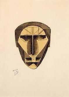 julio gonzalez sculpture | Julio González - Máscara, 1940