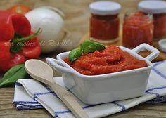 salsa di peperoni   ricetta la cucina di rosalba