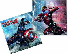 Civil War-Two-Ply Paper Napkins Online Party Supplies, The Avengers, Paper Napkins, Civilization, War, Baseball Cards, Movie Posters, Toys, Party