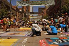 Denver Chalk Art Festival by Dhaval Shreyas, via Flickr