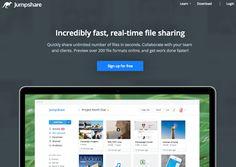 AYUDA PARA MAESTROS: Jumpshare - Herramienta para compartir archivos pesados en cuestión de segundos