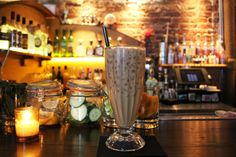 A rich, new cocktail creation from NYC's Lower East Side