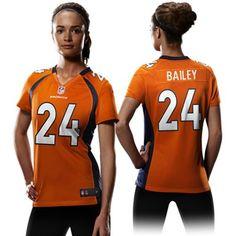 6a7931f22a2c5 Champ Bailey Jerseys for Women Estilo