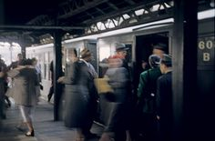Third avenue El train, 1951.