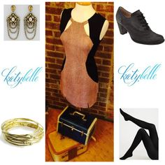 Valentines date night ideas are ever so inspiring at Katybelle right now!   This dress is ready to go for whatever you have planned!   Get Down to Business Dress $60  @EsleyCollection @EsleyClothing   We love the idea of this dress with some opaque tights, classic black booties, and some fun poppy jewelry for date night!  Make it your own!  Free Shipping on all orders, get yours today at Katybelle.com or email info@katybelle.com to order  #Katybelle #KatybelleDotCom #GetDownToBusinessDress…