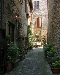 Sarnano, Marche, Italy