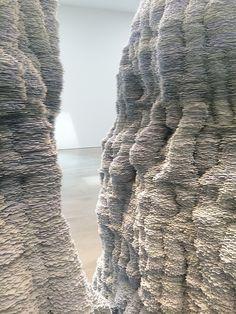 Tara-Donovan-Art-Exhibit-at-Pace-Gallery-NYC | DeSmitten