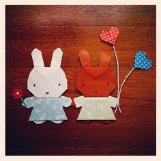 Miffy and Melanie love craft!