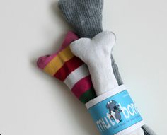 dog toys from old socks