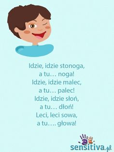 sensitiva.pl Polish Language, Baby Boom, Baby Development, Raising Kids, Cool Baby Stuff, Kids Education, Little Babies, Kids And Parenting, Kids Learning