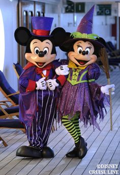 Mickey and Minnie Halloween - if you haven't been to Mickey's Halloween party you should go - so much fun!