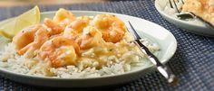 Shrimp Beurre Blanc