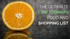 The Ultimate Low FODMAPs Food List & Shopping Guide