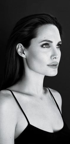 I embrace my cheekbones and jawline now because of her. I didn't always.