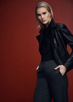 David Lawrence | Womenswear - Jackets & Coats Biker Style, Shop Now, Women Wear, Normcore, Leather Jackets, David, Coats, Clothes, Fashion