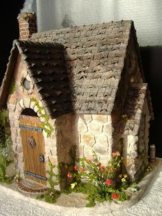 "Greenleaf Custom Buttercup Dollhouse Kit. Great idea for a fairytale/storybook/Wizarding World cottage! (""The Potions Master's Happily Ever After""?) Great idea for my Buttercup kit."