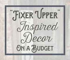 """It needs shiplap!"" If you are a fan of the show ""Fixer Upper,"" you're very familiar with that phrase, and have probably said it a time or two yourself.  ""Fixer Upper,"" a show about Chip and Joanna Gaines,..."