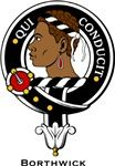 Borthwick Clan Crest Badge from www.4crests.com #clan #crests # badges #clans #scottish #scotland #family #badge #crest #tartan #kilt #genealogy #heraldry #family