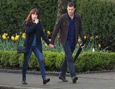 Jamie Dornan Life: New Pictures of Jamie on the 'Fifty Shades Darker'...